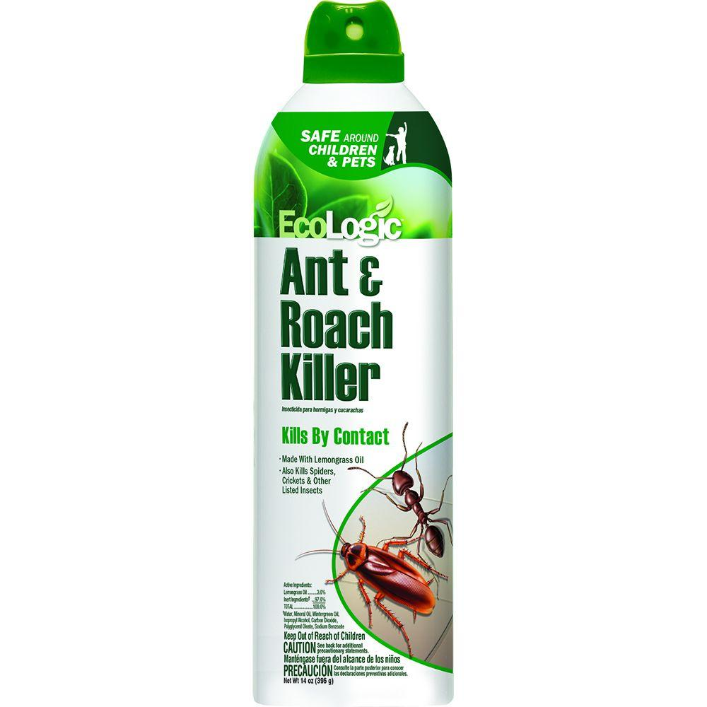 EcoLogic 14 oz. Ant and Roach Killer Aerosol-HG-75000 - The Home