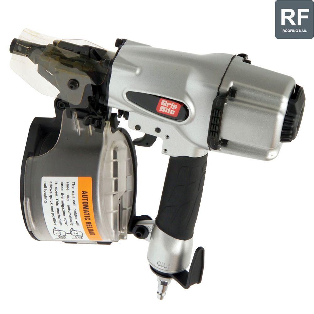 2-1/2 in. 15 Degree Wire and Plastic Collation Coil Siding Nailer