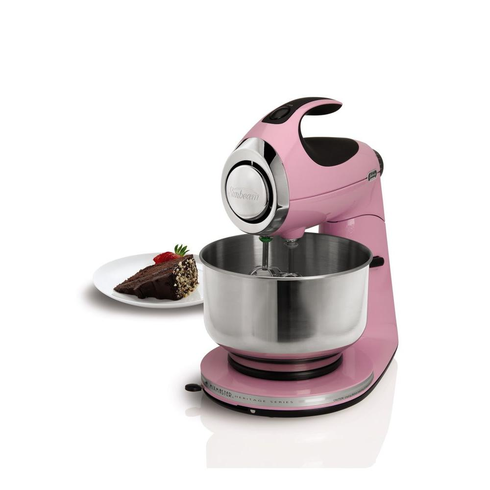 Heritage 4.6 Qt Offset Bowl Pink Stand Mixer