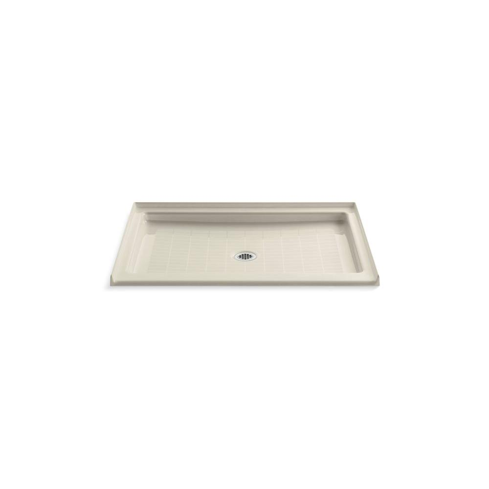 Purist 48 in. x 36 in. Single Threshold Shower Base in