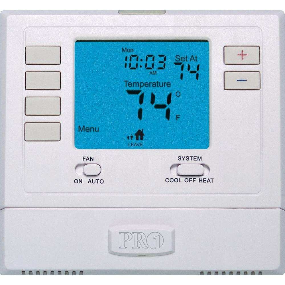 null 5-Day 2-Stage Programmable Thermostat