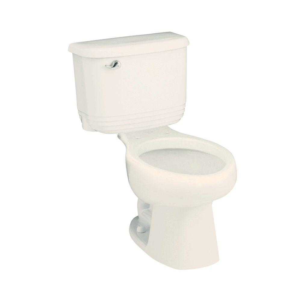 STERLING Riverton 2-piece 1.6 GPF Elongated Toilet in Biscuit-DISCONTINUED