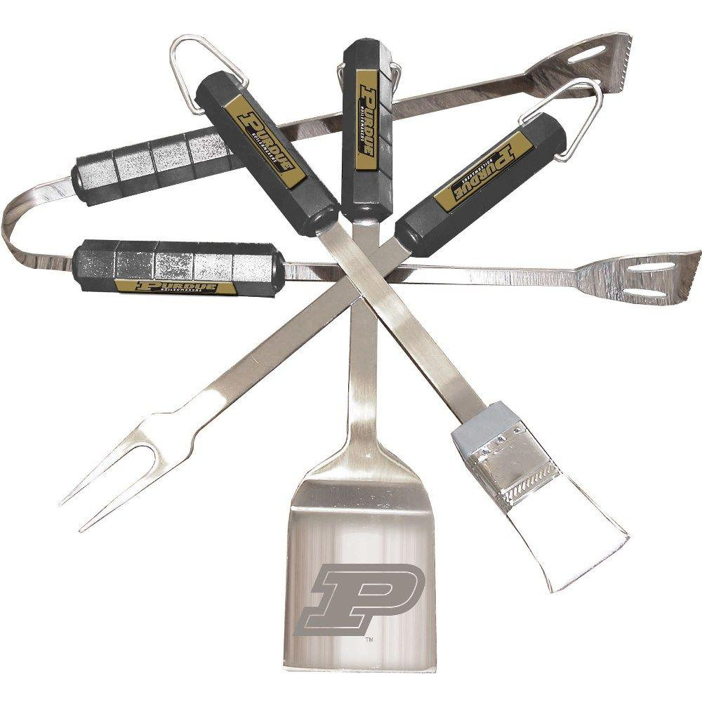 NCAA Purdue Boilermakers 4-Piece Grill Tool Set