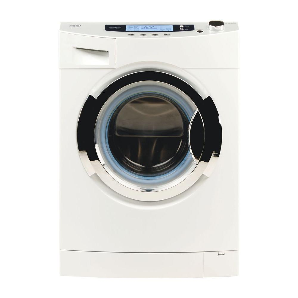 Haier All-in-One Combination 1.8 cu. ft. High-Efficiency Electric Washer and Ventless Dryer in White