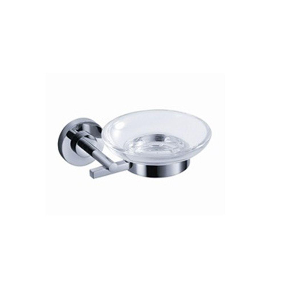 Fresca Alzato Wall-Mounted Soap Dish in Chrome-FAC0803 - The Home Depot