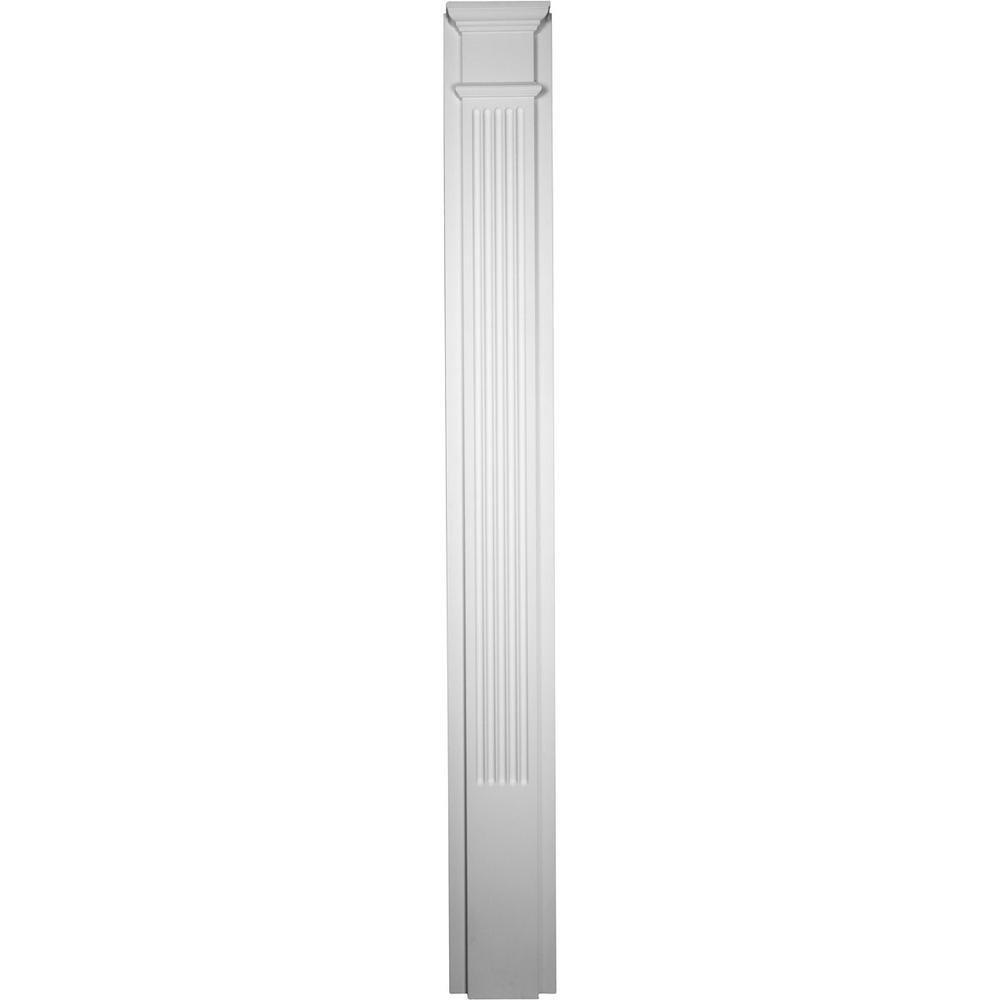 2-1/2 in. x 10 in. x 90-1/2 in. Polyurethane Fluted Pilaster