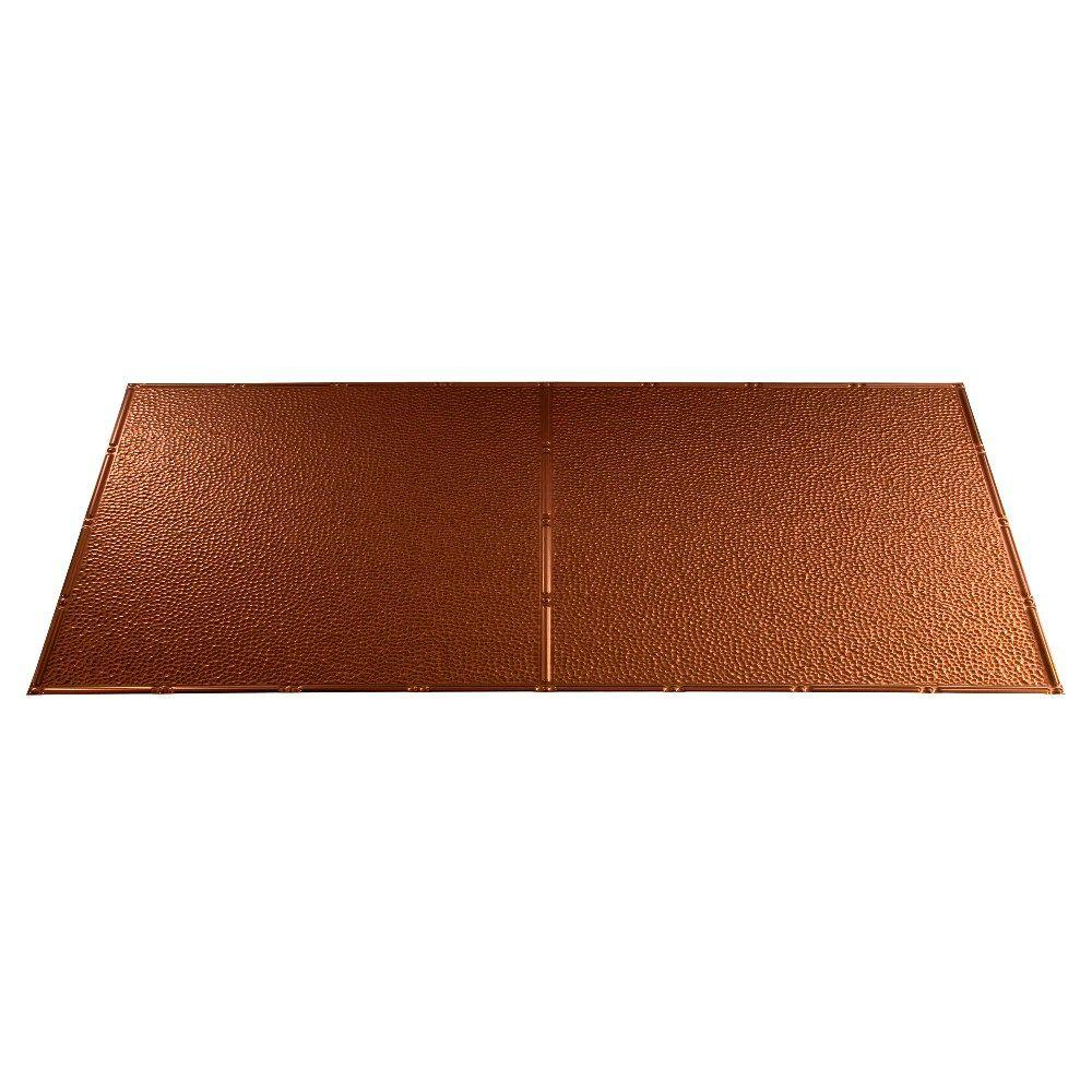 Fasade Border Fill 2 ft. x 4 ft. Oil Rubbed Bronze Lay-in Ceiling Tile
