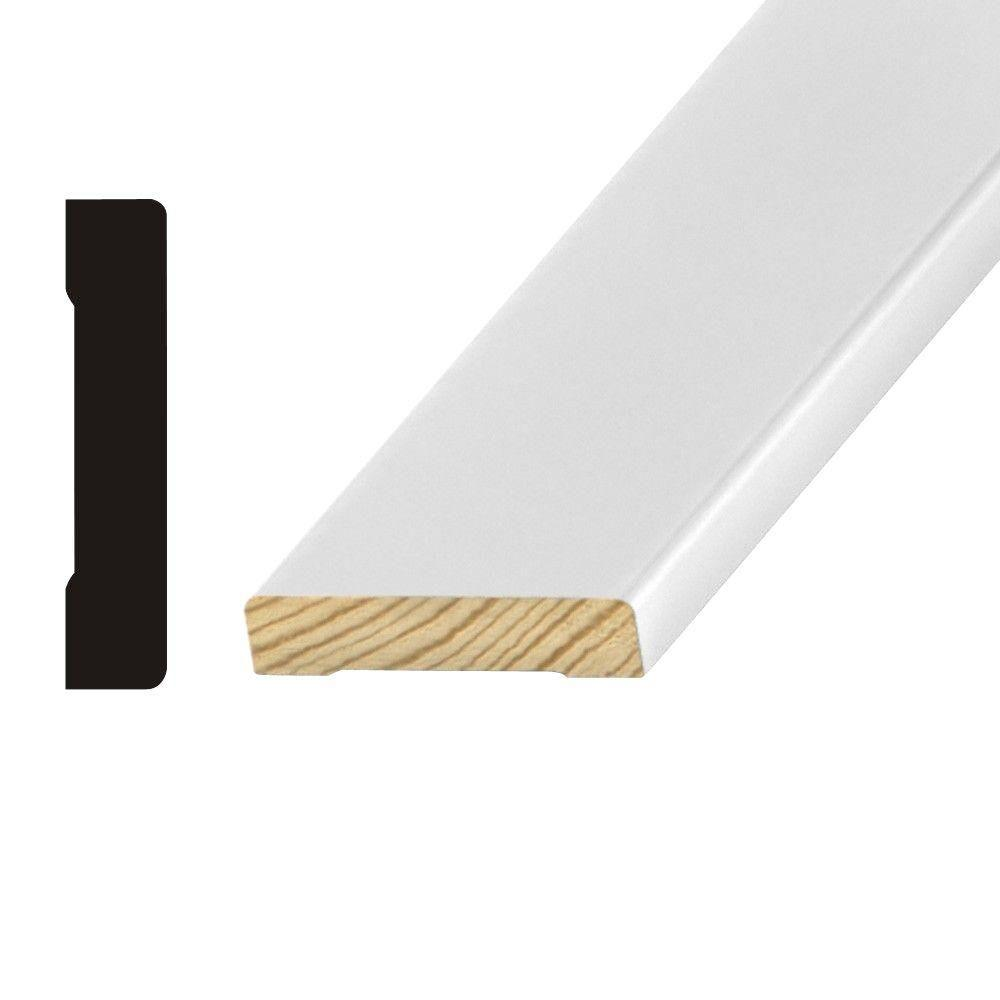 OP 473 9/16 in. x 2-1/4 in. Primed Finger-Jointed Pine Casing