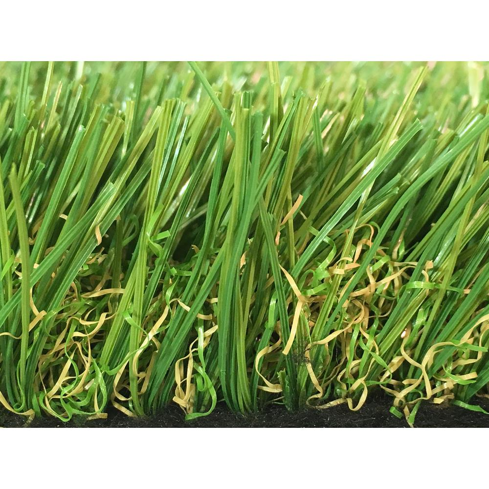 GREENLINE Sapphire 50 Fescue Artificial Grass Synthetic Lawn Turf Carpet for