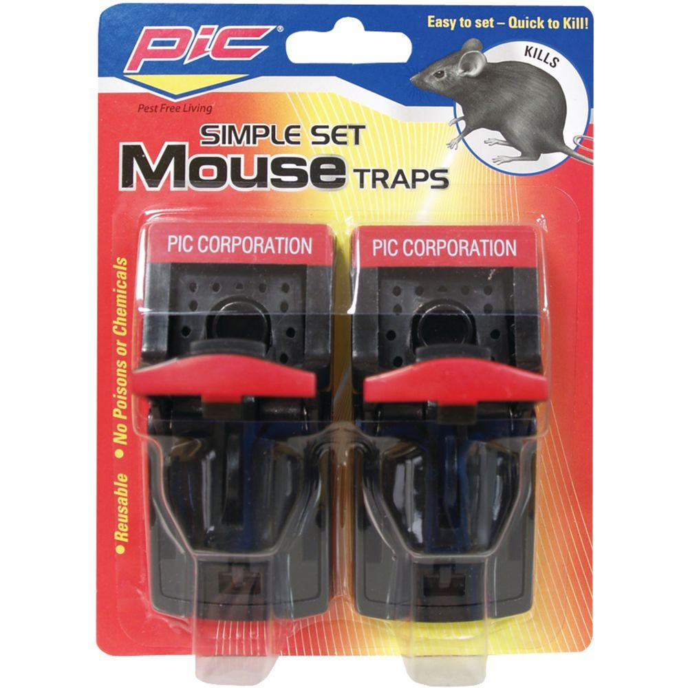 2 Simple Mouse Trap (3-Pack)