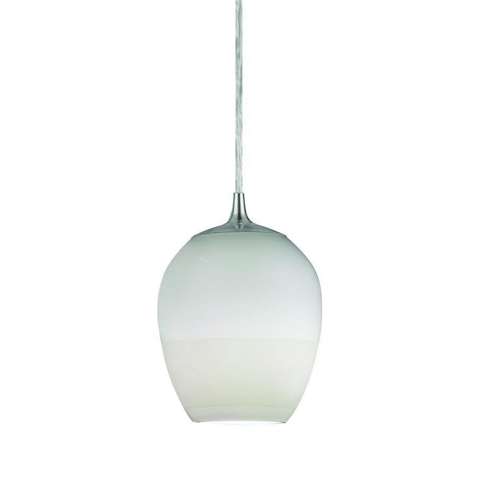 Radionic Hi Tech Biscayne 1-Light White Pendant-BSP113WHSCT - The Home Depot