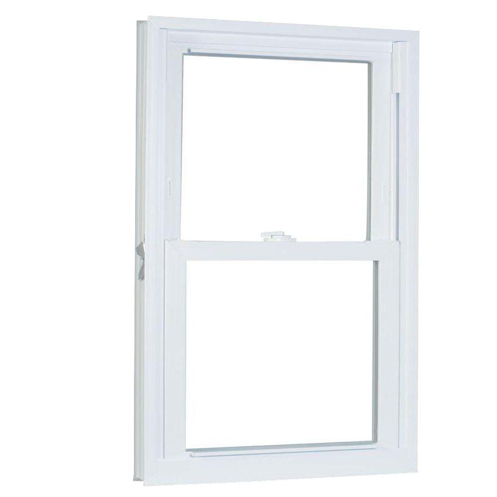 31.75 in. x 37.25 in. 70 Series Pro Double Hung White