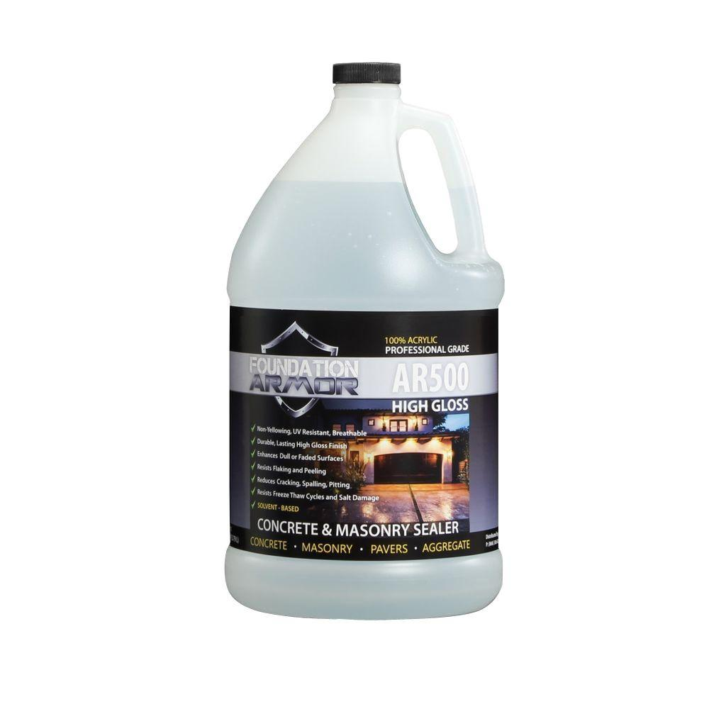 1 gal. Solvent Based Acrylic High Gloss Concrete Sealer and Paver