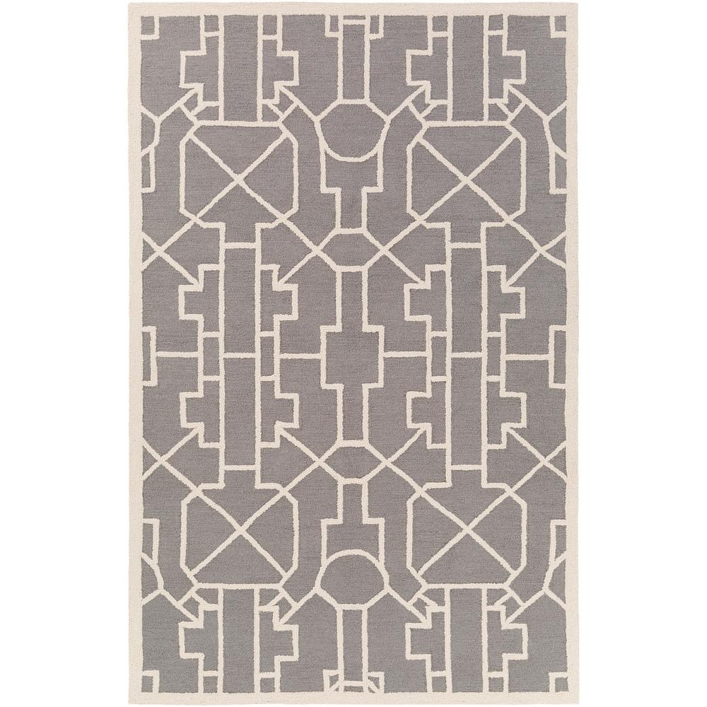Marigold Leighton Gray 5 ft. x 7 ft. 6 in. Indoor Area Rug