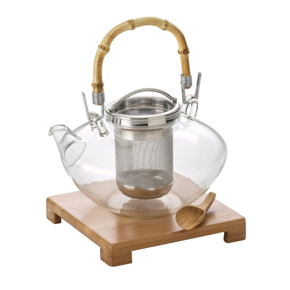 Zen 5-Cup Teapot and Stand