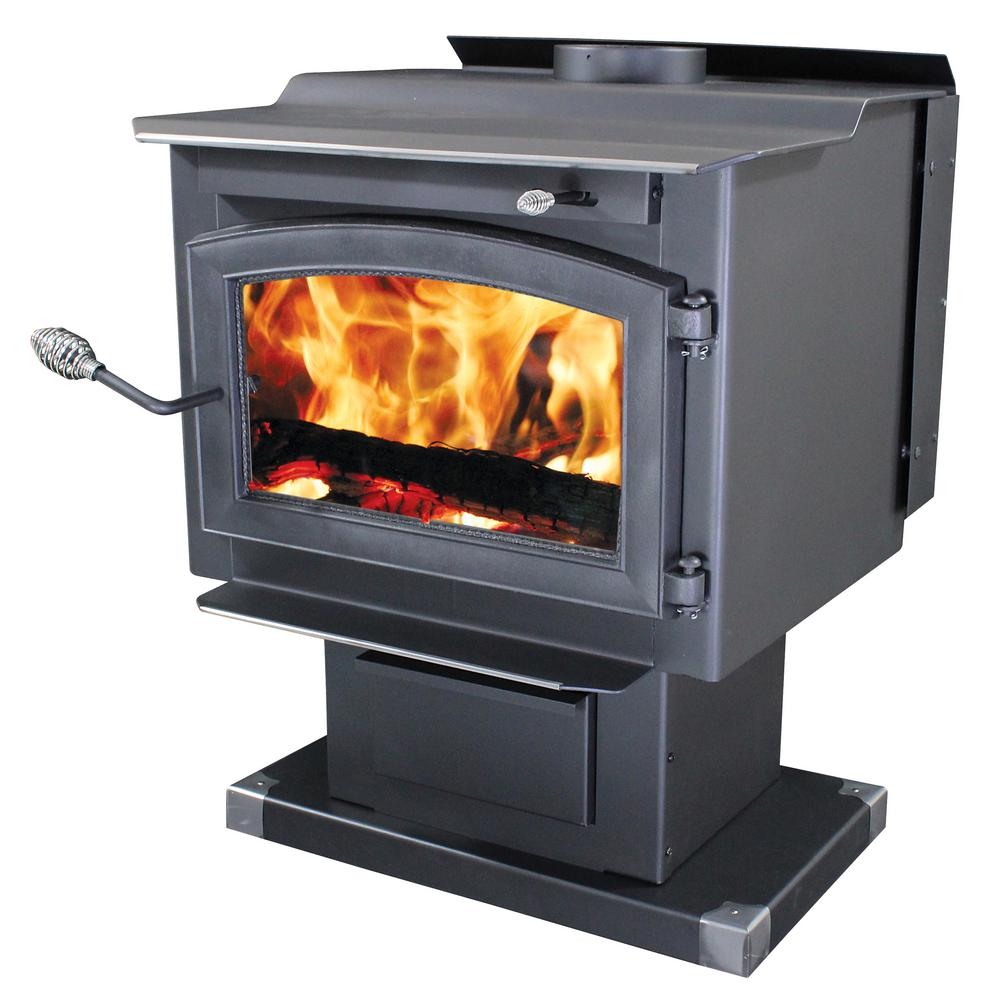 Wood-Burning Stove with Blower - Vogelzang - Freestanding Stoves - Fireplace & Hearth - Heating