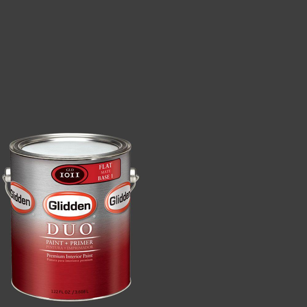 Glidden DUO Martha Stewart Living 1-gal. #MSL280-01F Silhouette Flat Interior Paint with Primer-DISCONTINUED