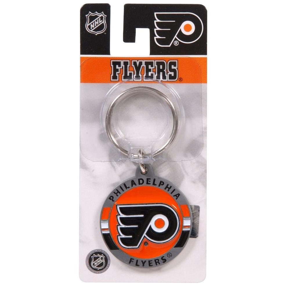 The Hillman Group NHL Philadelphia Flyers Key Chain (3-Pack)-711432 - The