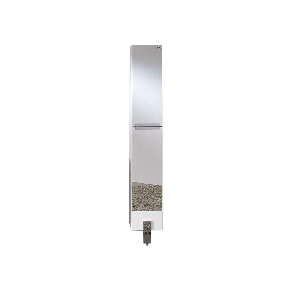 Fresca 10 in. W Bathroom Linen Cabinet Mirrored-FST8110MR - The Home