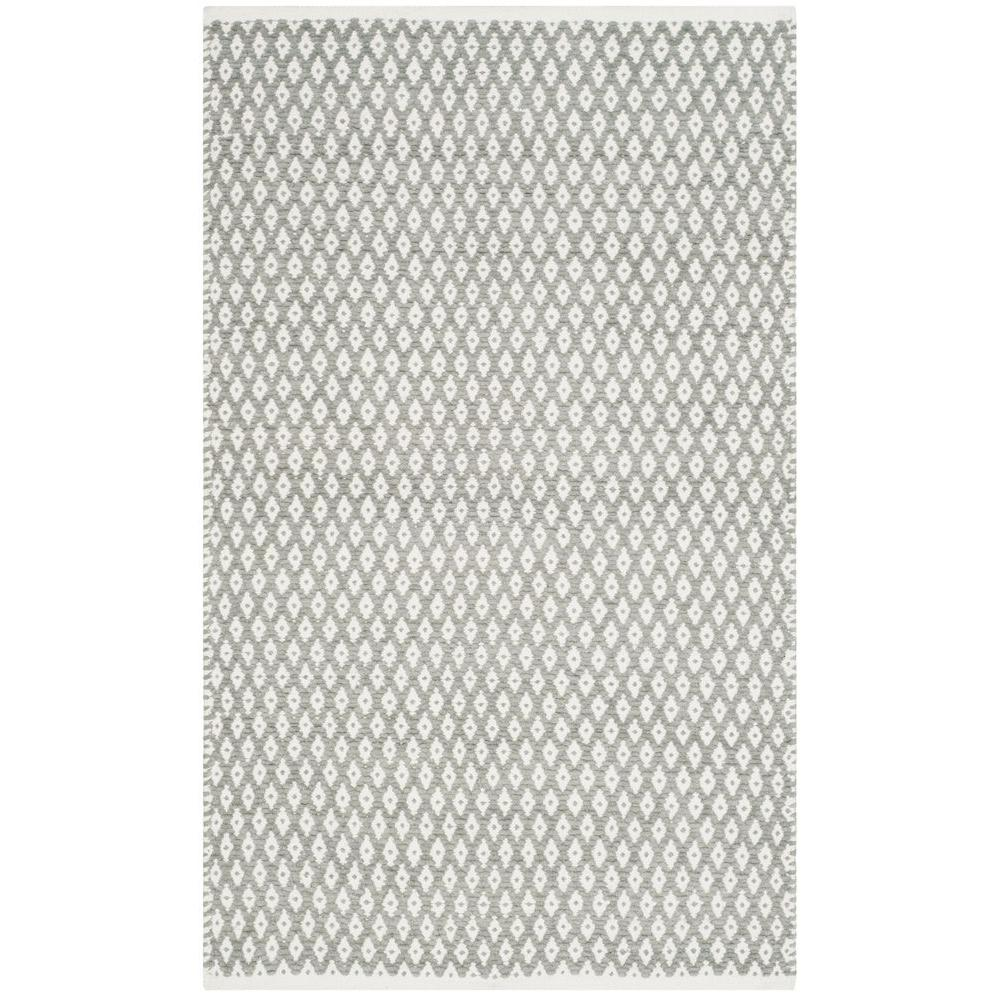 Boston Gray 2 ft. 6 in. x 4 ft. Area Rug