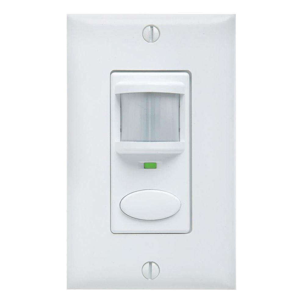 Lithonia Lighting Passive Dual Technology Vacancy Motion Sensing Wall Switch -