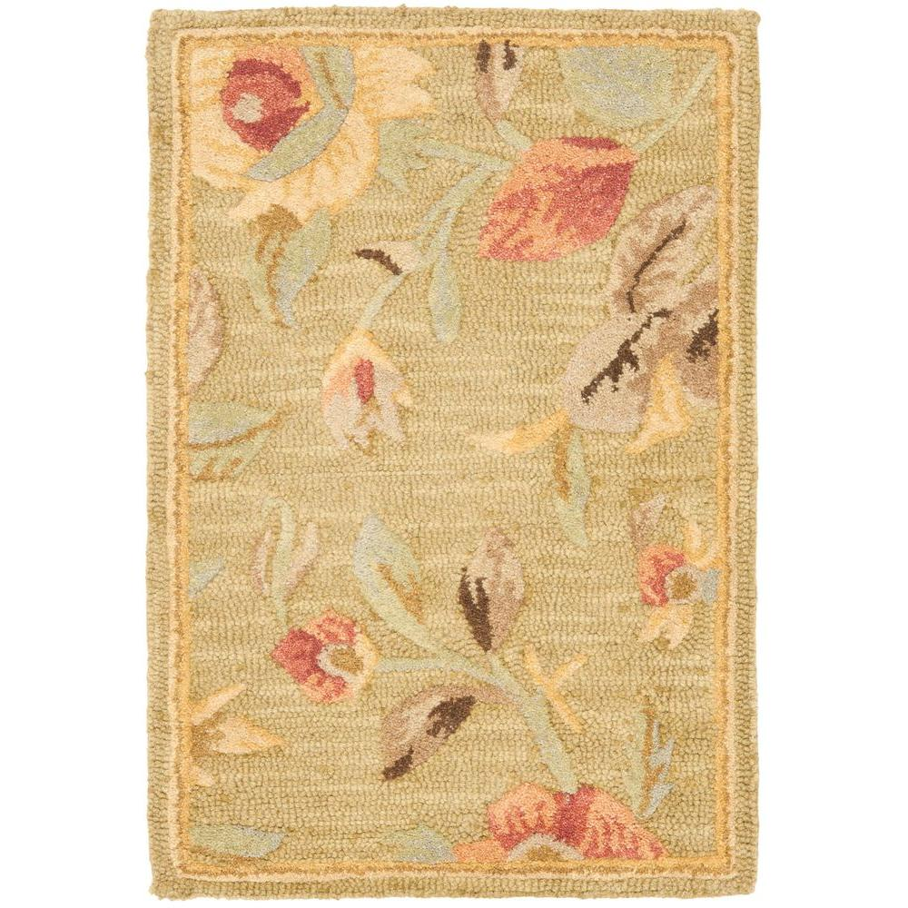Blossom Green/Multi 2 ft. x 3 ft. Area Rug