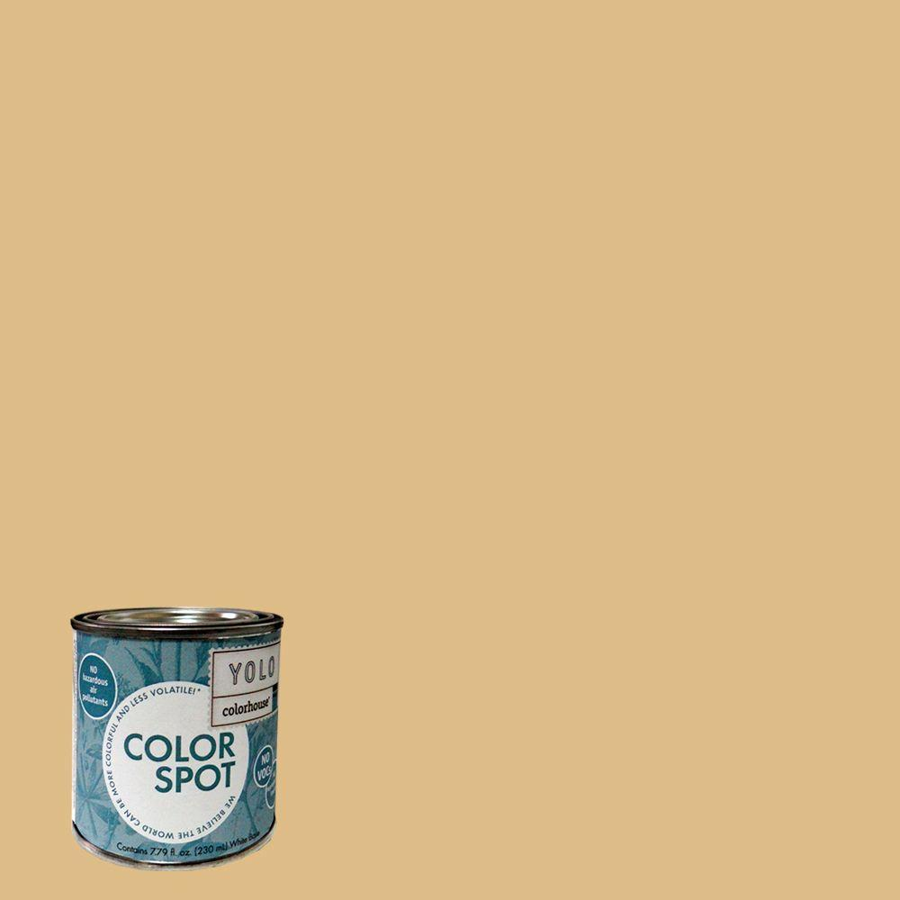 YOLO Colorhouse 8 oz. Grain .05 ColorSpot Eggshell Interior Paint Sample-DISCONTINUED