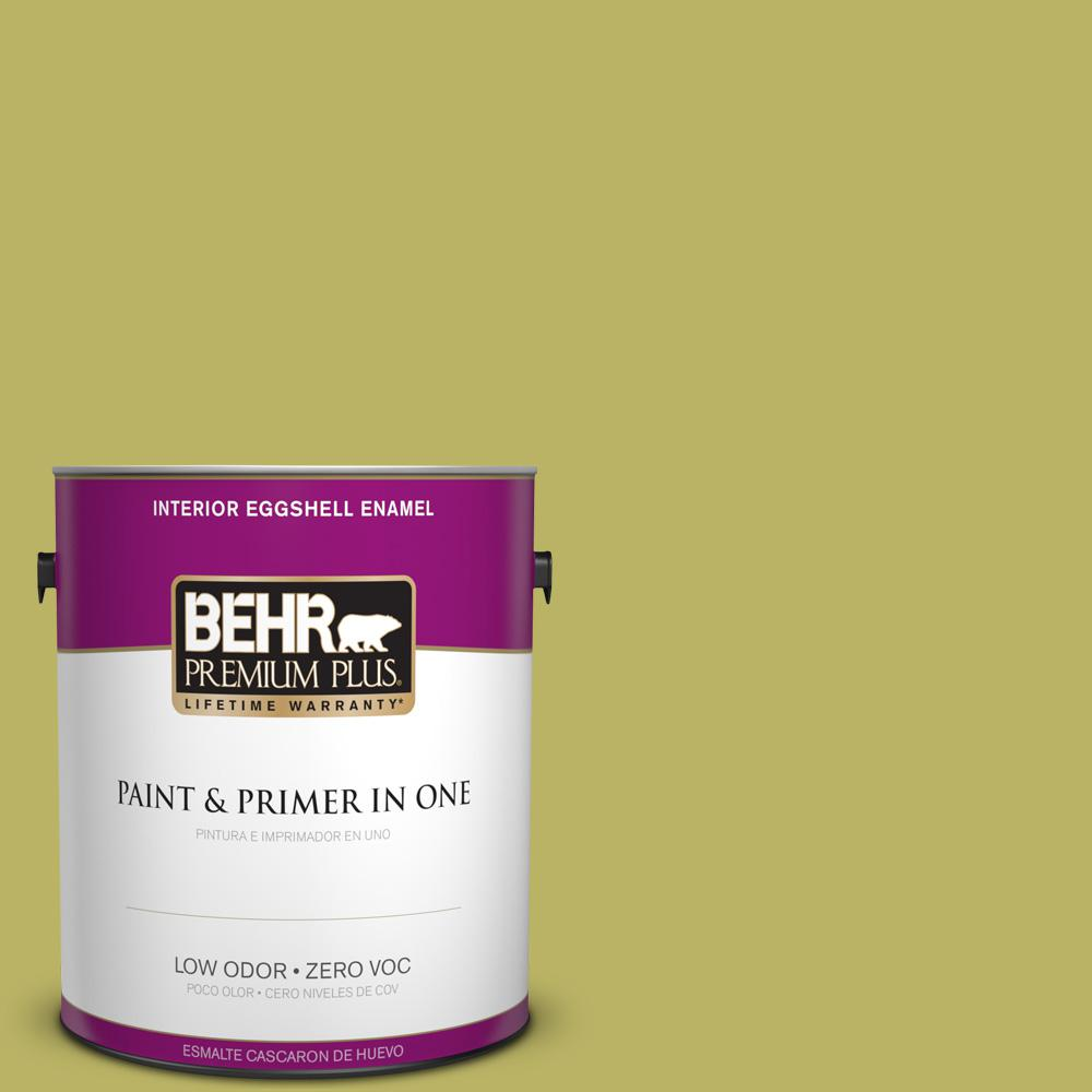 1 gal. #PPU9-06 Riesling Grape Zero VOC Eggshell Enamel Interior Paint