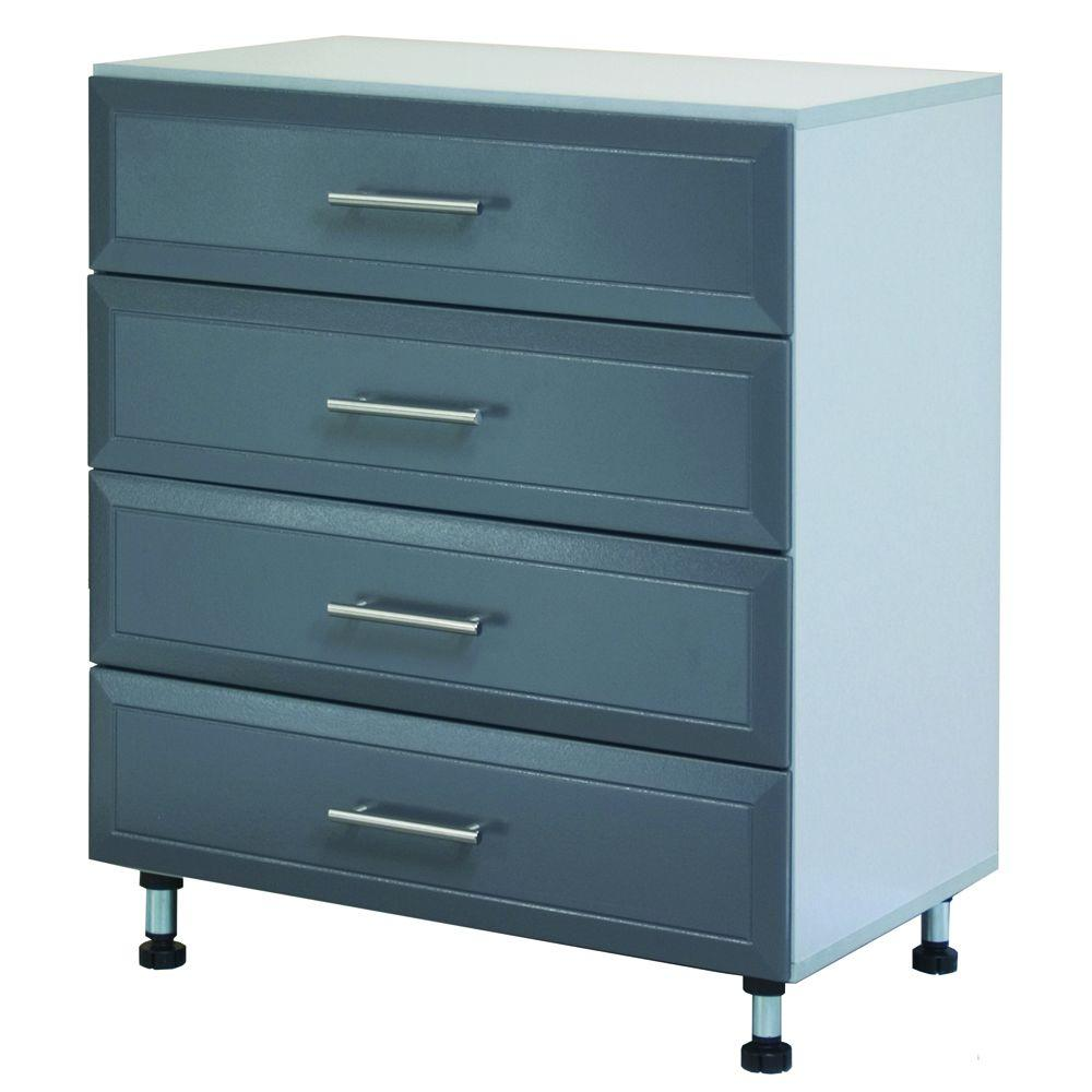 ClosetMaid Maximum Load 31-1/2 in. 4-Drawer Cabinet-DISCONTINUED