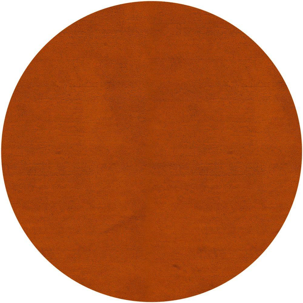 Artistic Weavers Paradise Rust 8 ft. Round Area Rug-Oroville-8RD - The
