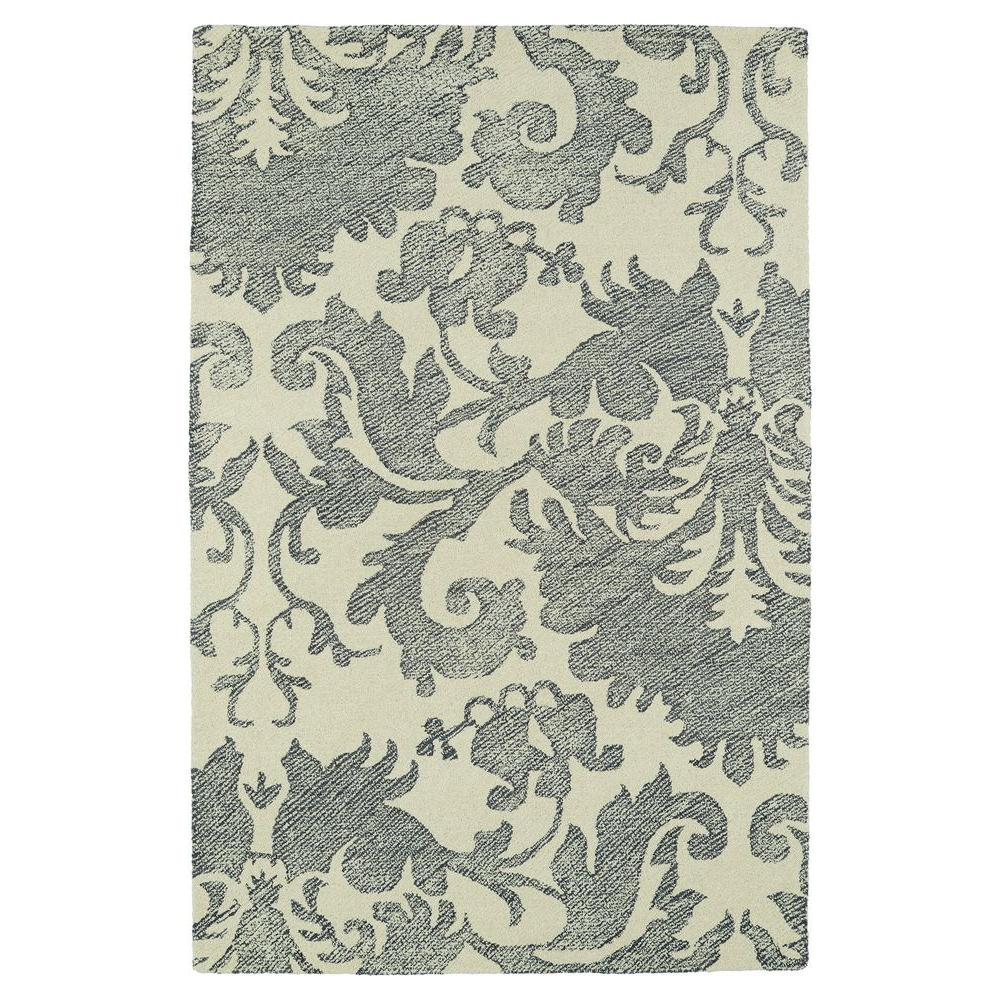 Montage Grey 5 ft. x 7 ft. 9 in. Area Rug