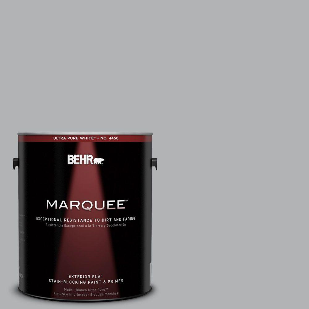 behr marquee 1 gal 770e 3 pewter mug flat exterior paint