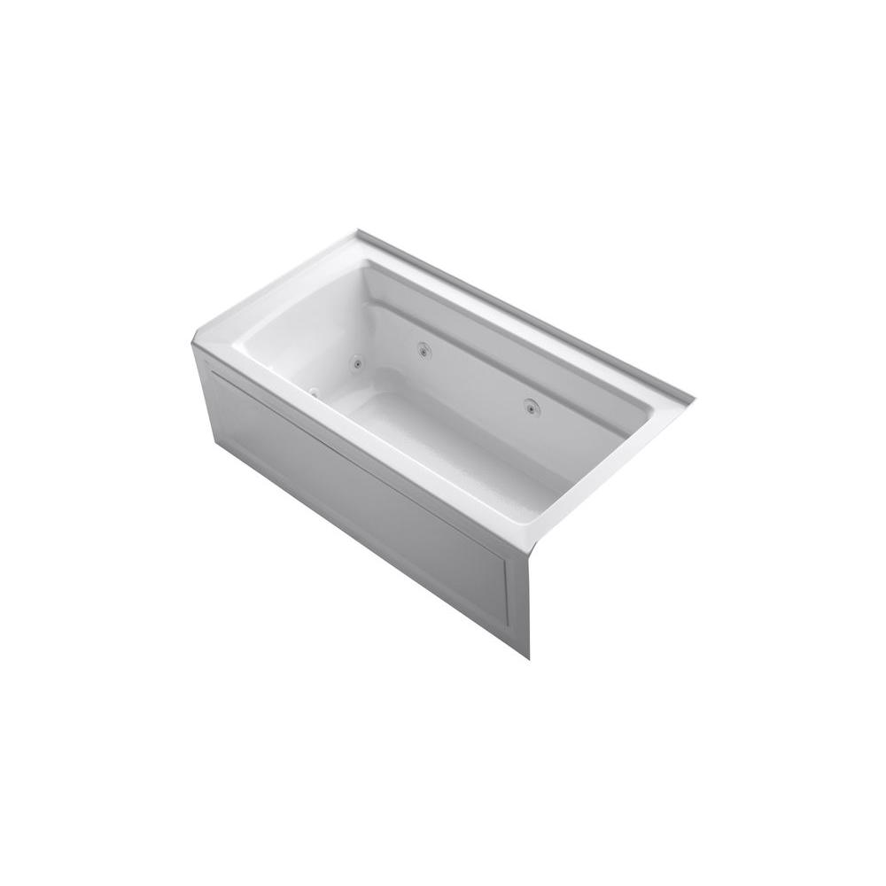 KOHLER Archer 5 ft. Whirlpool Tub in Mexican Sand