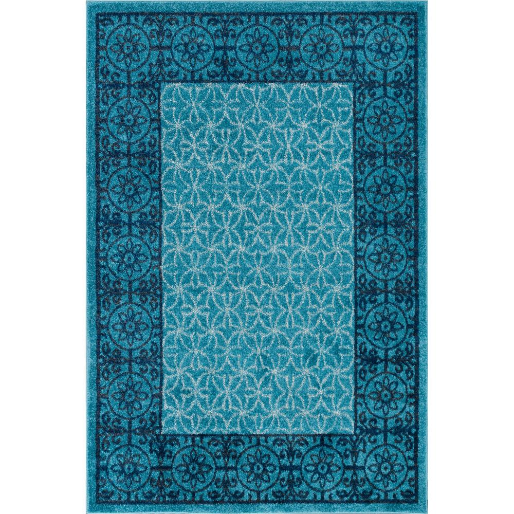 Well Woven Mystic Gabby Light Blue 7 ft. 10 in. x