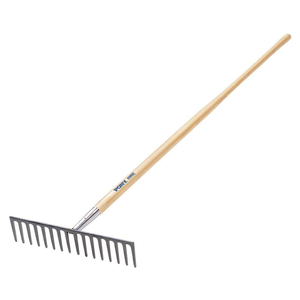 Jackson 14-Tine Level Head Rake