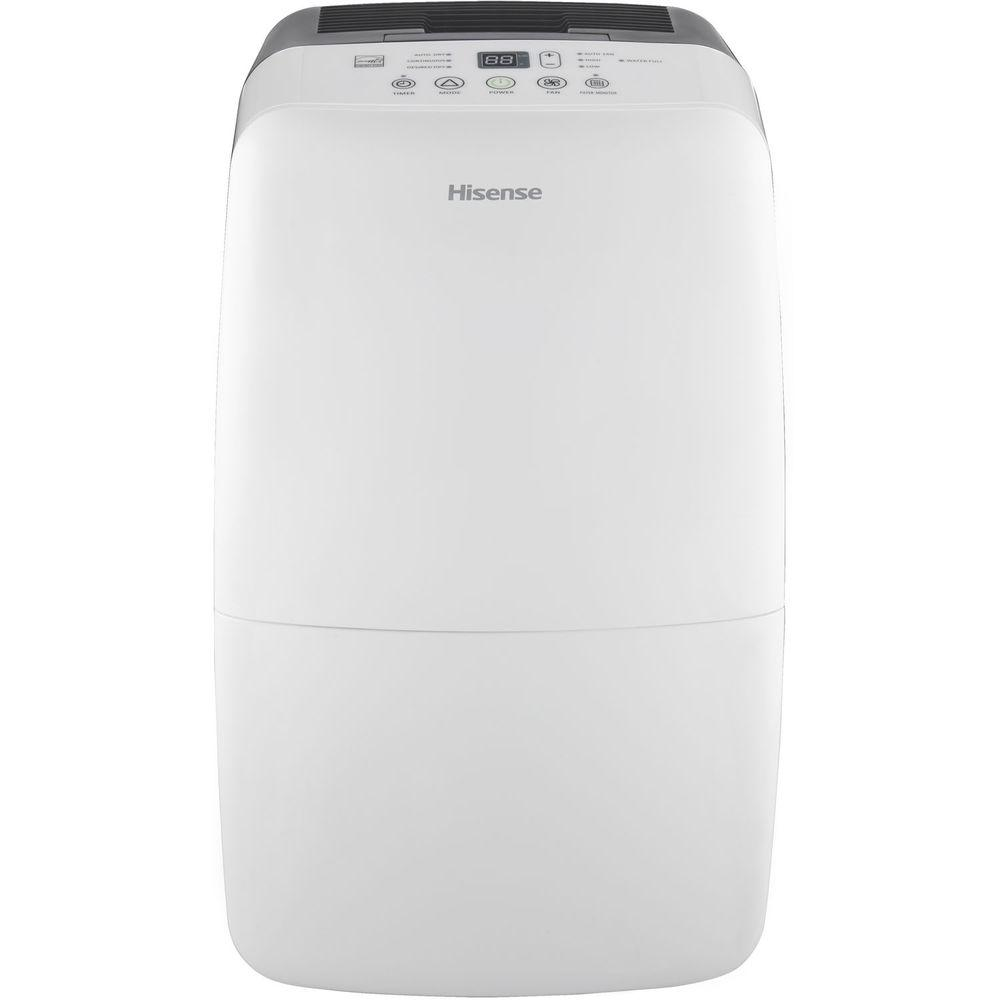 Hisense 70-Pint 2-Speed Dehumidifier with Built-In Pump