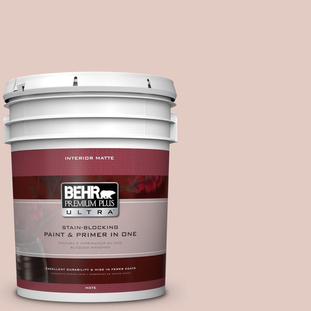 BEHR Premium Plus Ultra Home Decorators Collection 5 gal. #hdc-NT-10 Victorian Cameo Flat/Matte Interior Paint