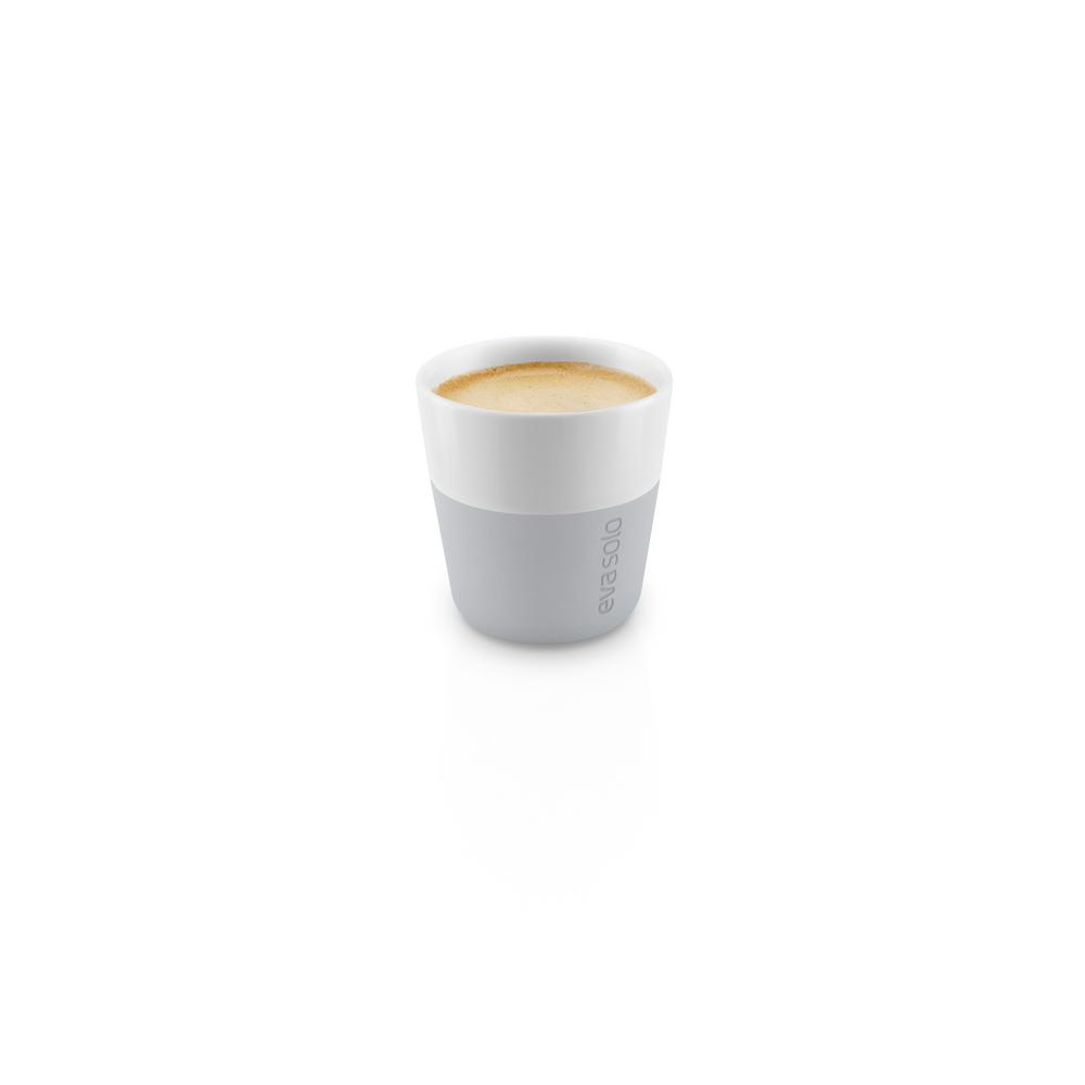 3 oz. Porcelain Espresso Tumbler with Silicone Sheath in Marble Grey,