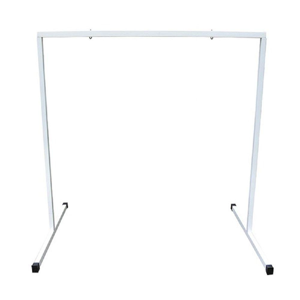 T5 4 ft. Steel White Powder Coated Light Stand