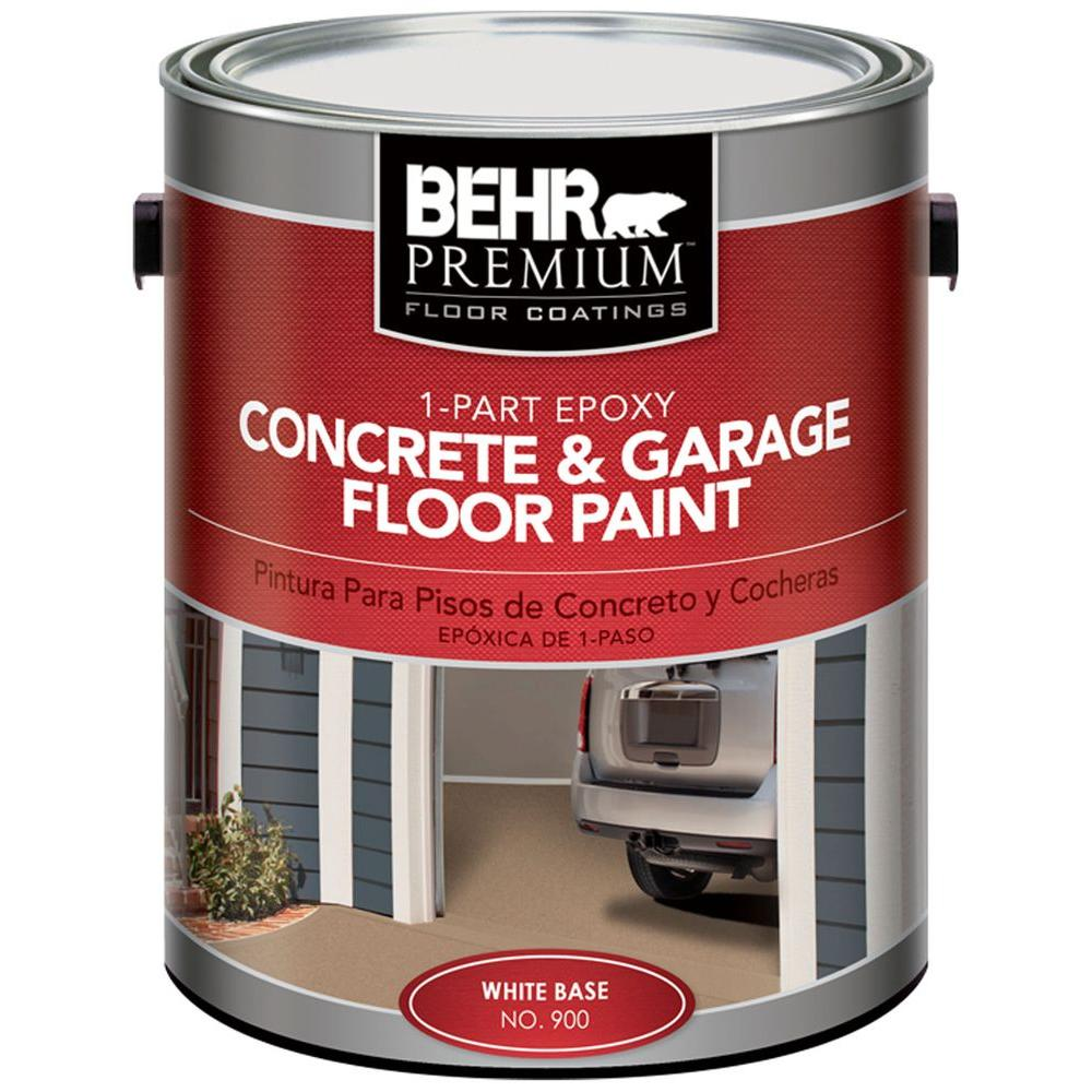 1-gal. Satin 1-Part Epoxy Acrylic Concrete and Garage Floor Paint
