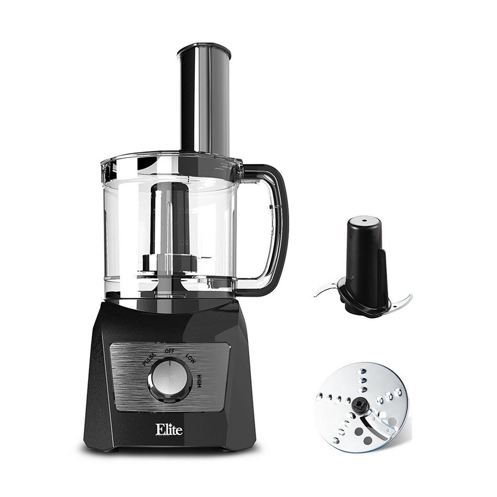 3 Cups Food Processor 2 Speeds and Pause function come With