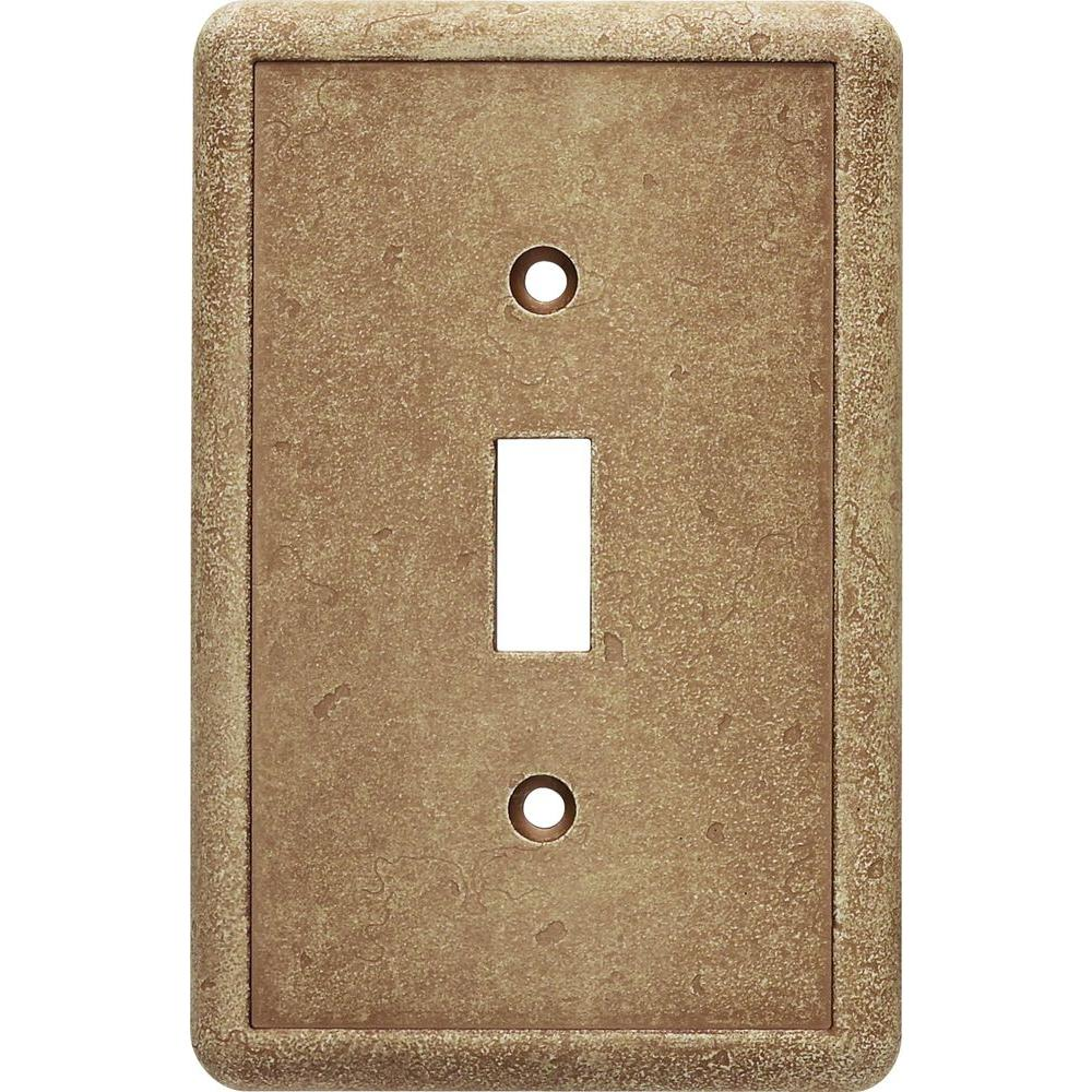 1 Toggle Wall Plate in Noche