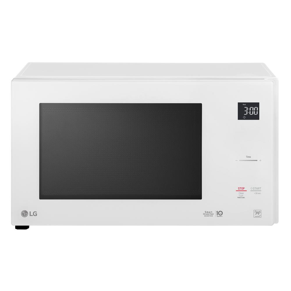 Countertop Microwave White : LG Electronics 1.5 cu. ft. Countertop Microwave in White-LMC1575SW ...