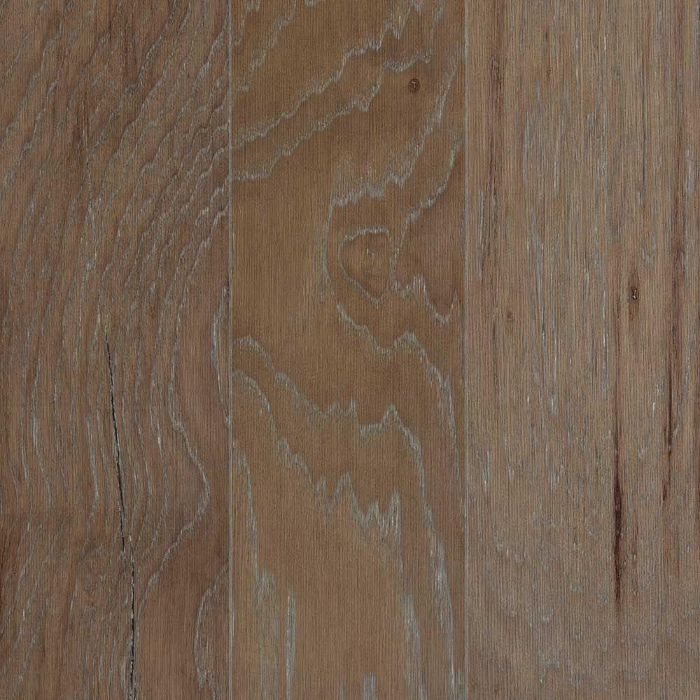 Mohawk Hamilton Gray Mist Hickory 3/8 in. Thick x 5 in. Wide x Random Length Engineered Hardwood Flooring (28.25 sq. ft. /case)
