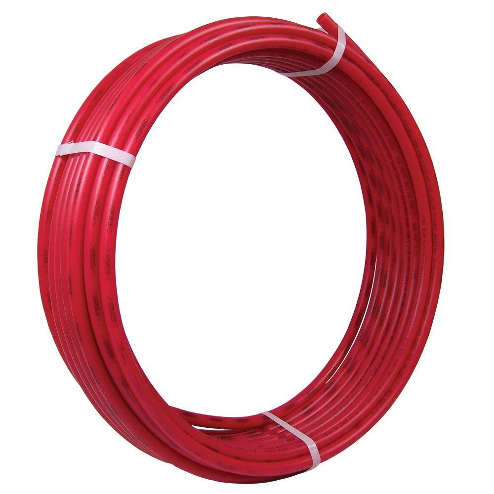 1/2 in. x 100 ft. Red PEX Pipe