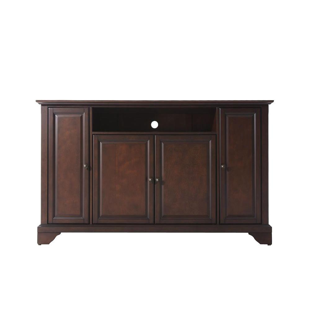 Crosley LaFayette TV Stand in Mahogany-KF10001BMA - The Home Depot
