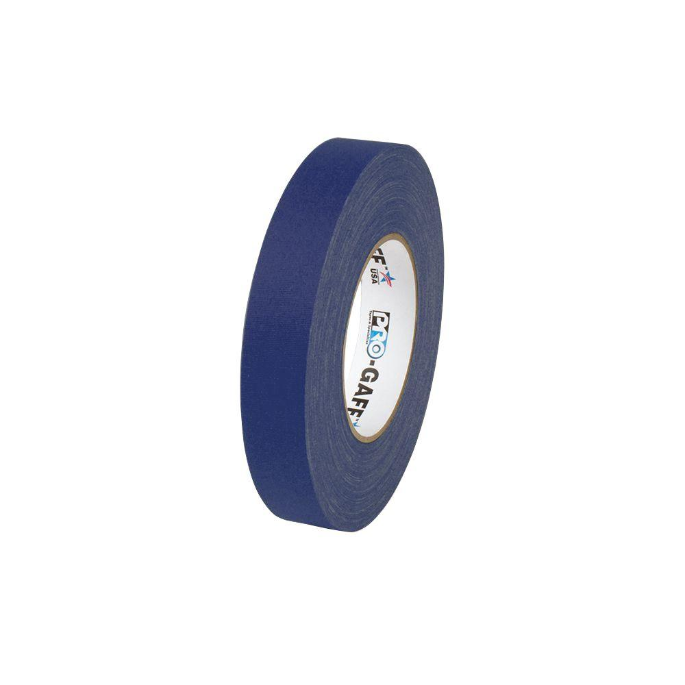 1 in. x 55 yds. Blue Gaffer Industrial Vinyl Cloth Tape