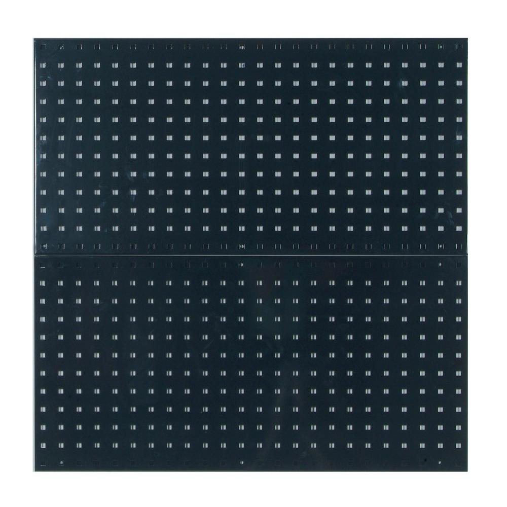 3/8 in. Black Pegboard Wall Organizer