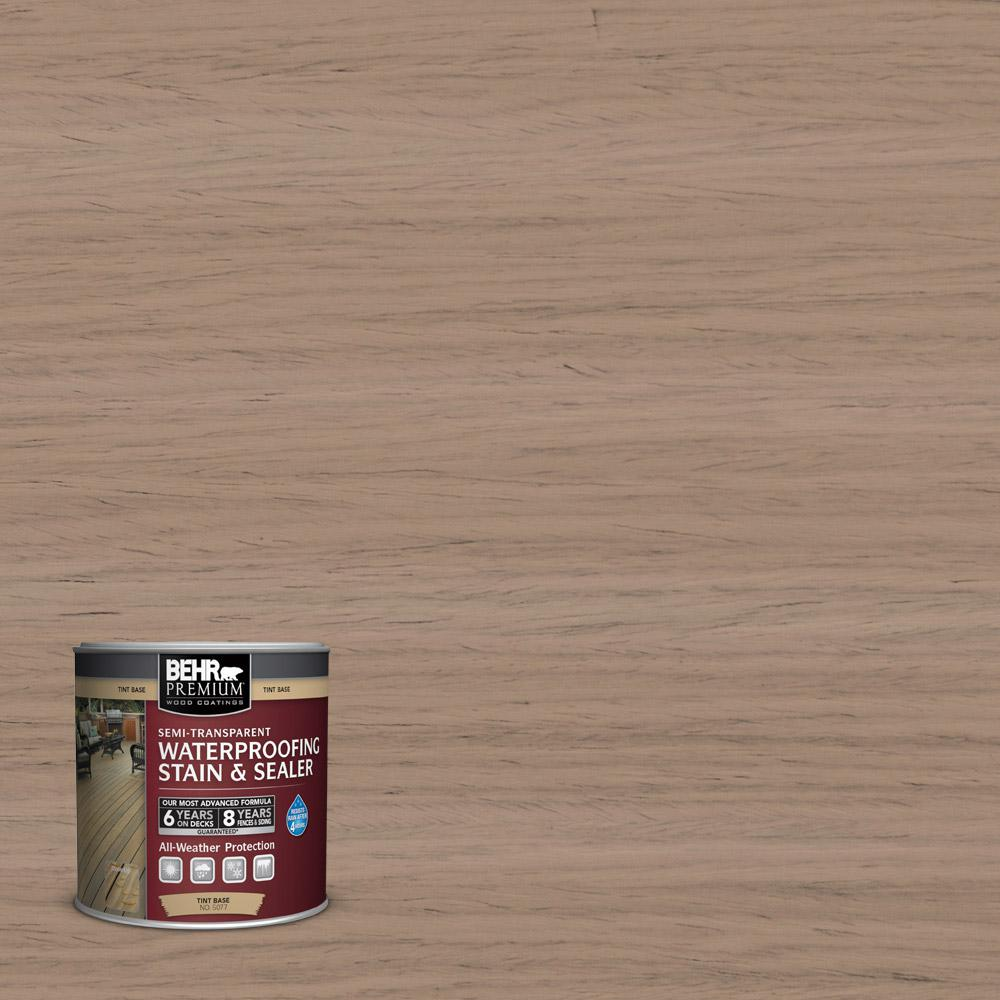8-oz. #ST160 Rose Beige Semi-Transparent Waterproofing Stain and Sealer Sample