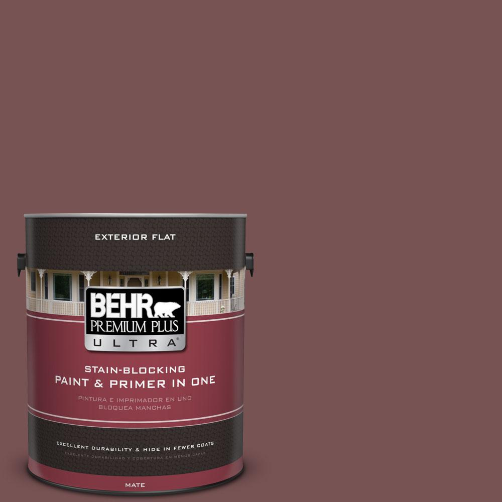 1-gal. #120F-6 Japanese Maple Flat Exterior Paint